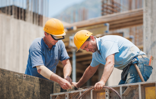 construction workers and chiropractic