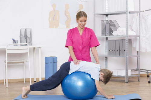 chiropractic stability ball