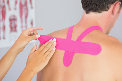 kinesio tape and chiropractic